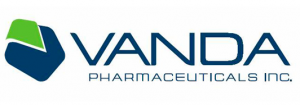 Logo for Vanda Pharmaceuticals